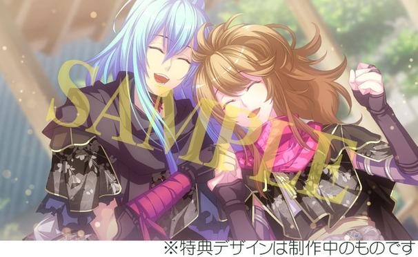 [特典付情報]PS4/忍び、恋うつつ -万花彩絵巻-/B2布ポスター