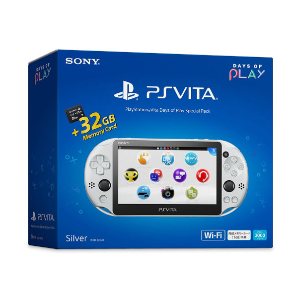 PlayStationVita Days of Play Special Pack PCHJ-10034