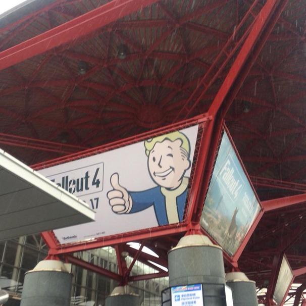 脱線/TGS2015/その1/Fallout4は映像出展のみだったー!!