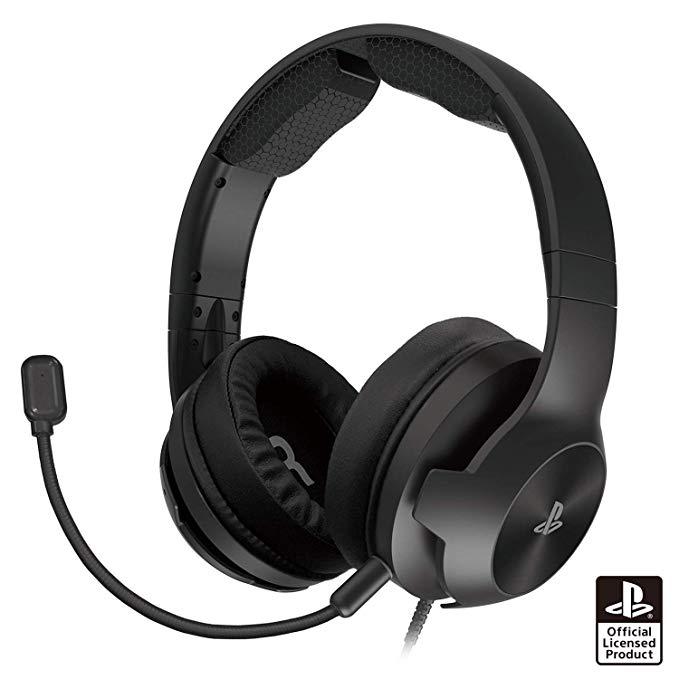 ホリゲーミングヘッドセット ハイグレード for PlayStation 4 ブラック
