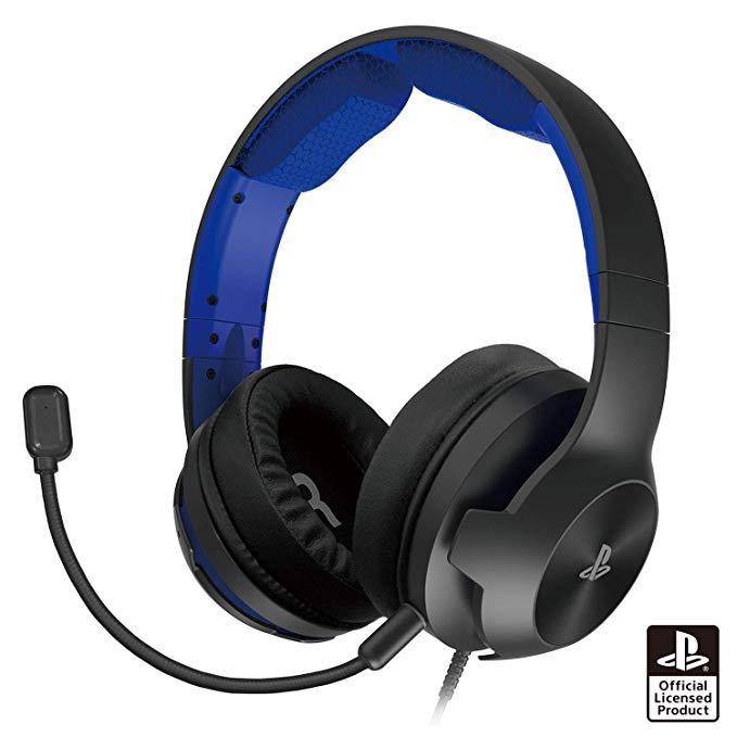 ホリゲーミングヘッドセット ハイグレード for PlayStation 4 ブルー
