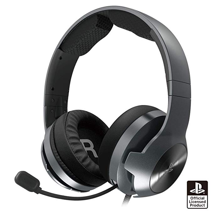 ホリゲーミングヘッドセット プロ for PlayStation 4 ブラック