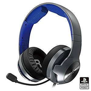 ホリゲーミングヘッドセット プロ for PlayStation 4 ブルー
