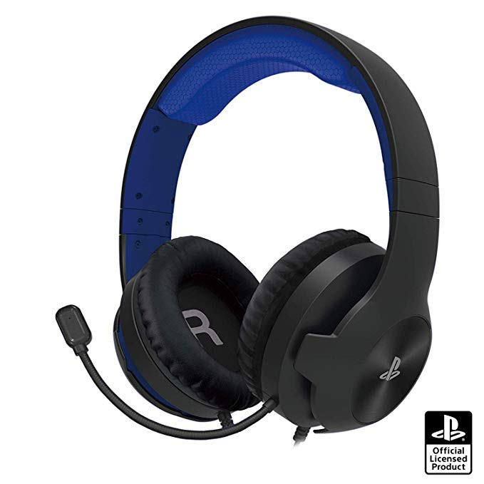 ホリゲーミングヘッドセット スタンダード  for PlayStation4 ブルー