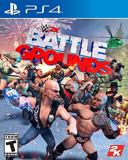 WWE 2K Games Battlegrounds(北米版)