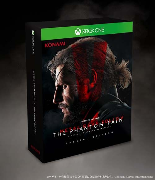 METAL GEAR SOLID V: THE PHANTOM PAIN SPECIAL EDITION [XboxOne版]