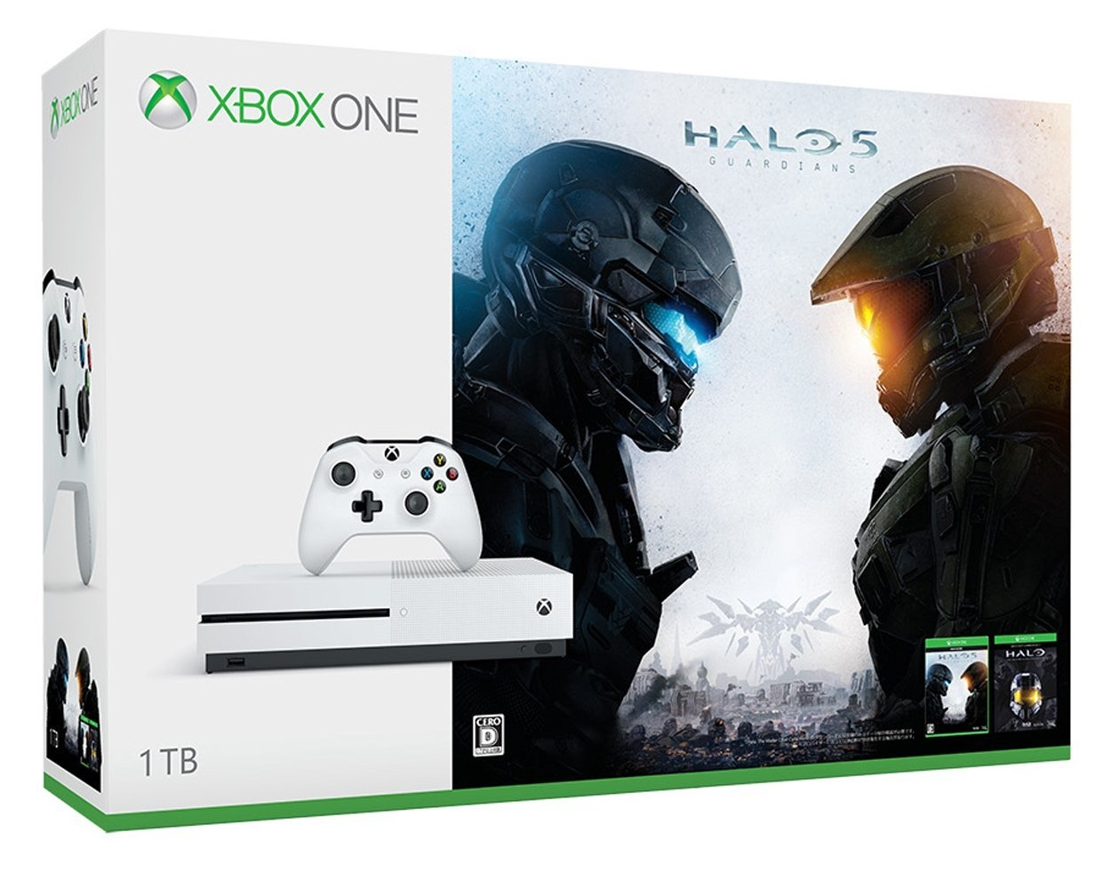 XboxOne S 1TB (Halo Collection 同梱版)