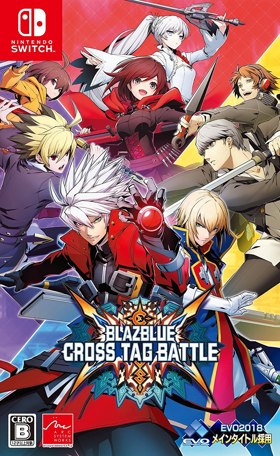BLAZBLUE CROSS TAG BATTLE 通常版 [Swich版]