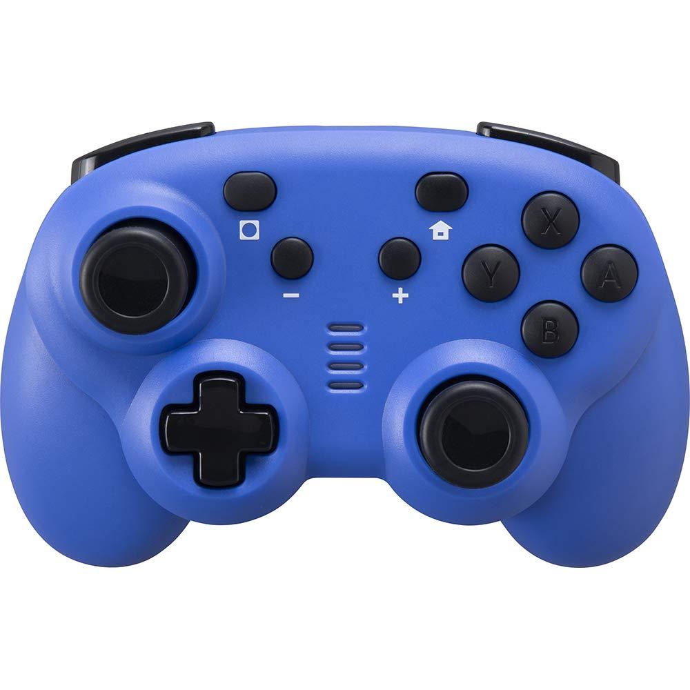 CYBER・ジャイロコントローラー ミニ 無線タイプ(SWITCH用) ブルー