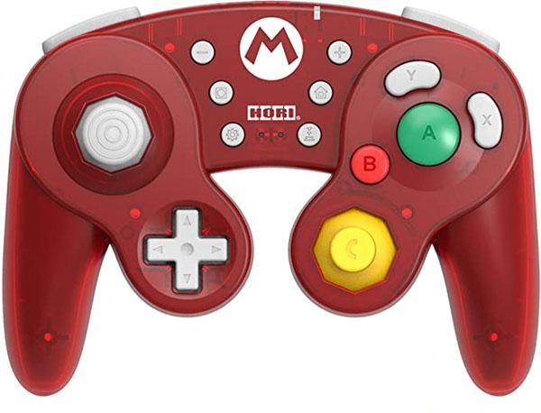 ホリ ワイヤレスクラシックコントローラーfor Nintendo Switch マリオ