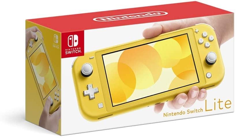 【Nintendo Switch Lite イエロー】の詳細はこちら